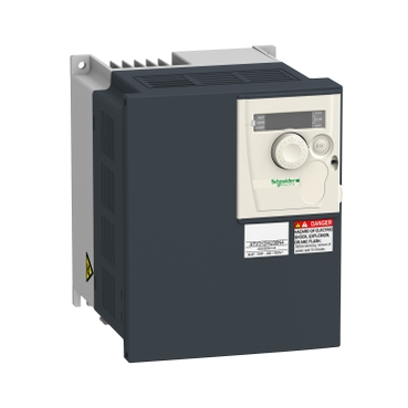 Variable speed drive, ATV312, 5 HP, 8.4 kVA, 180 W, 200 to 240 V 3 phase supply