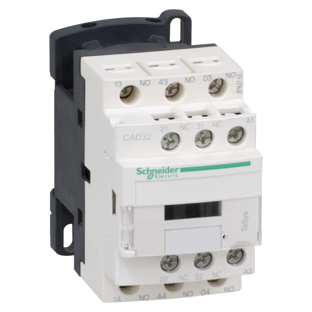 TeSys D control relay, 3 NO and 2 NC, 600 V, 120 VAC 50/60 Hz coil