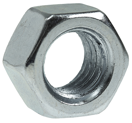 Item # HN14, (HN14) Hexagonal Steel Machine Nut