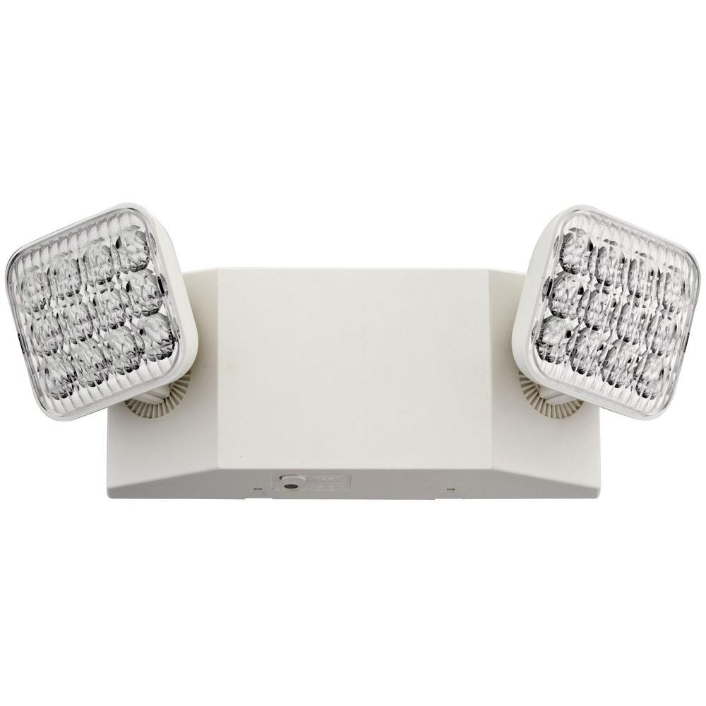 LED, two-headed emergency unit, California certified, Master pack of 6, SKU - 263X65