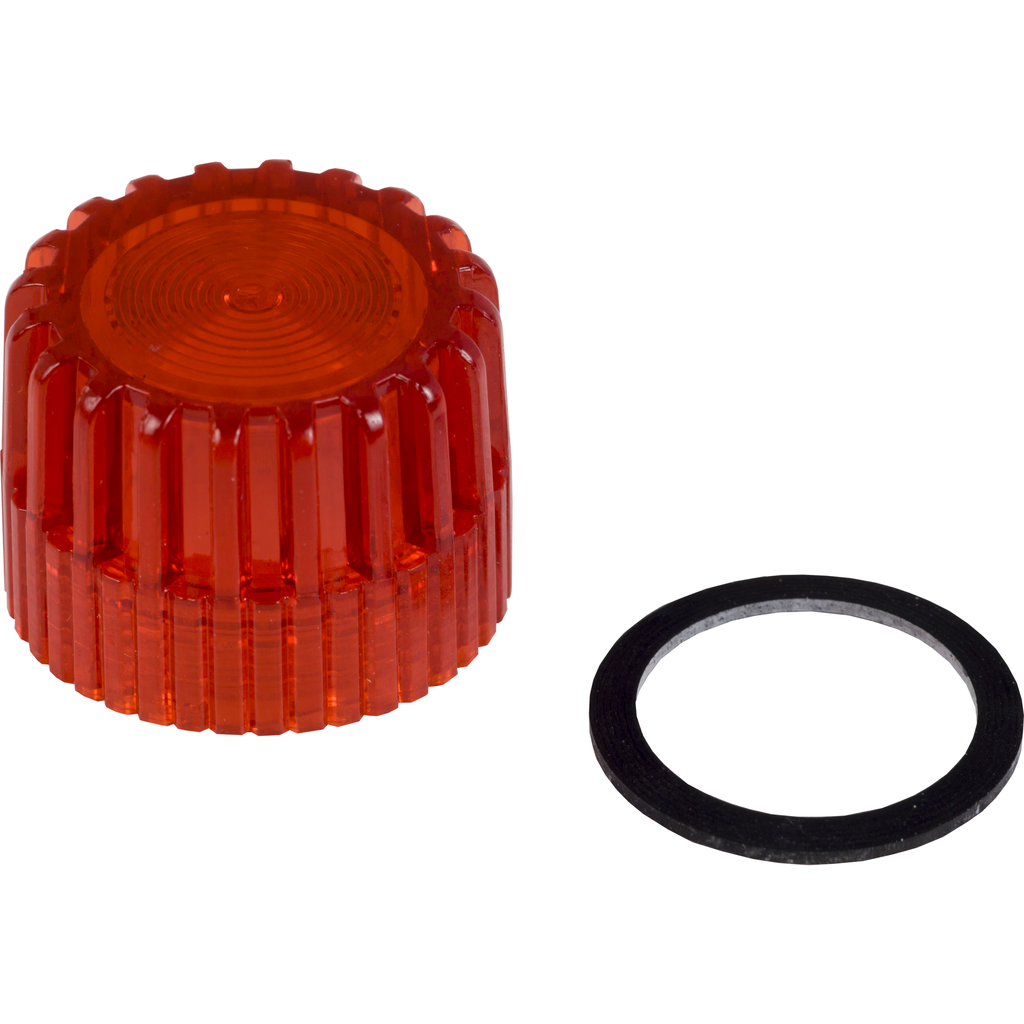 30MM COLOR CAP FOR ILL PUSHBUTTON RED