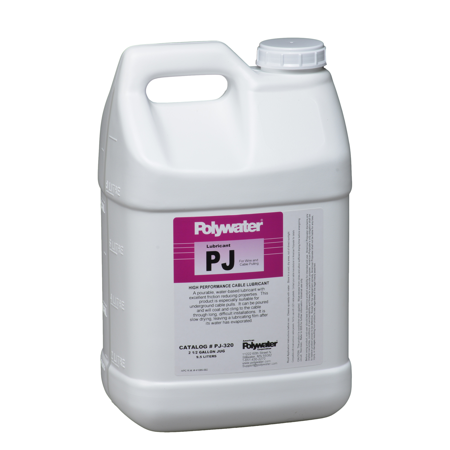 POLYWATER PJ320 2.5 GALLON WIRE PULLING LUBE
