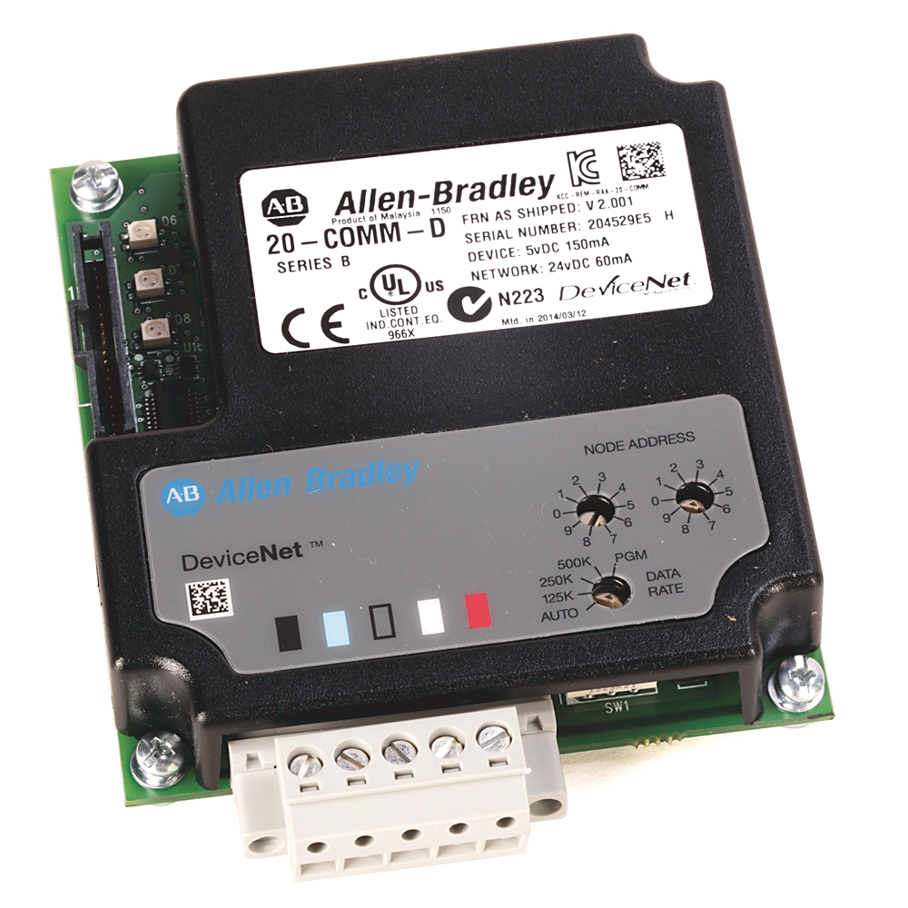 A-B 20-COMM-D POWERFLEX DEVICENET ADAPTER
