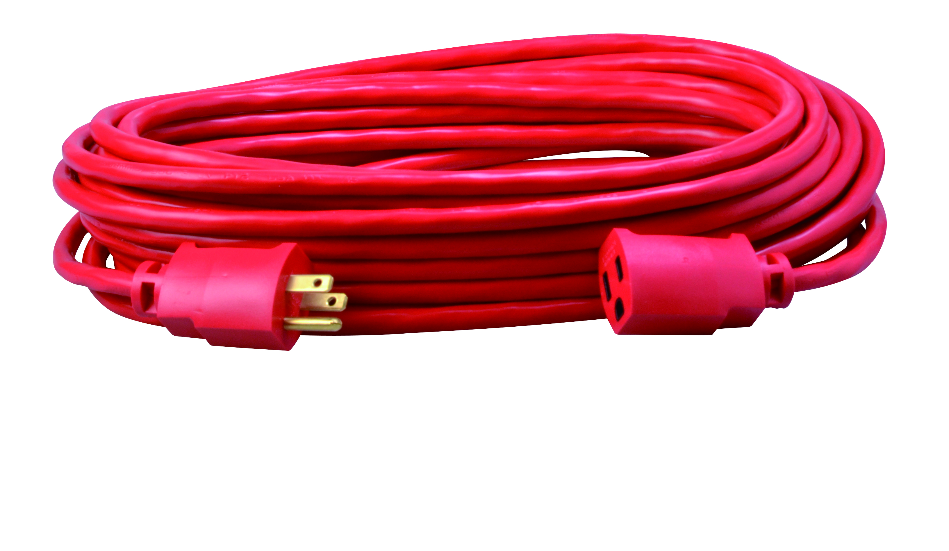 COLEMAN 2408SW8804 14/3 50FT SJTW RED EXTENSION CORD