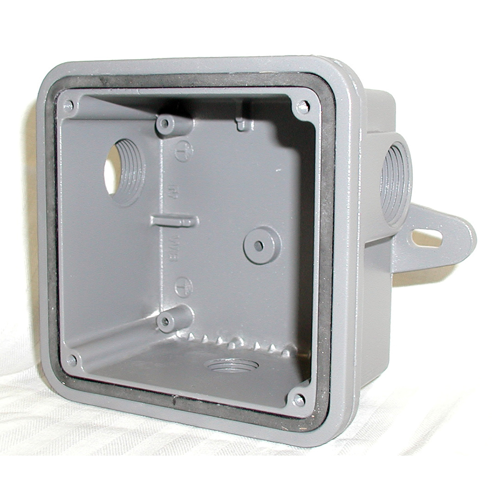 FEDERAL-SIG WB 4-IN WEATHER PROOF CAST ALUMINUM BOX