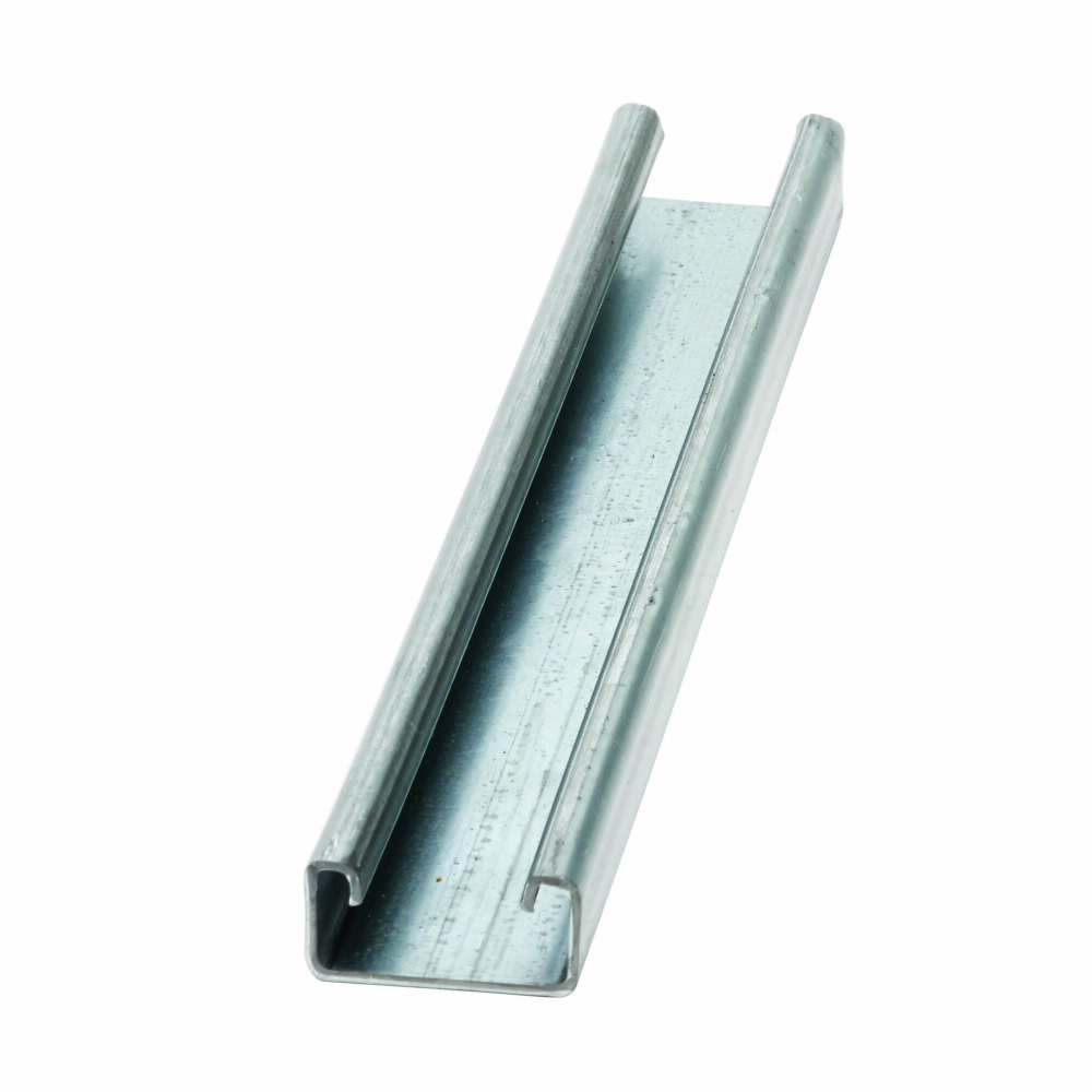 B-LINE B54-120-SS4 1-5/8 X 13/16-IN SHALLOW STAINLESS STEEL CHANNEL