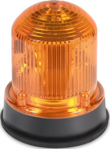 125 Class High Light Output Strobe in a NEMA Type 4X enclosure.  Panel or conduit mounting.  Protective wire guard available, Cat. No. 125GRD.