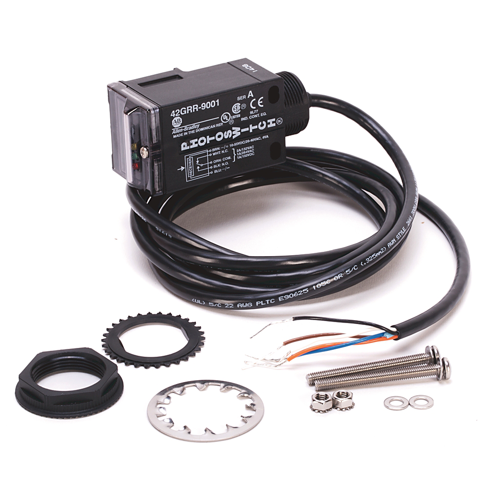 A-B 42GRR-9001 PHOTOEYE RECEIVER 10-55VDC WITH 2M CABLE ATTACHED
