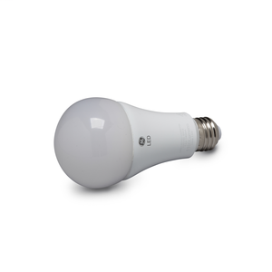 GE LED Lamps, 15 WTT, 1600 LM, 2700 K, Dimmable, A21, Medium Screw Base, 5.16 IN Length, 15000 HR Average Life