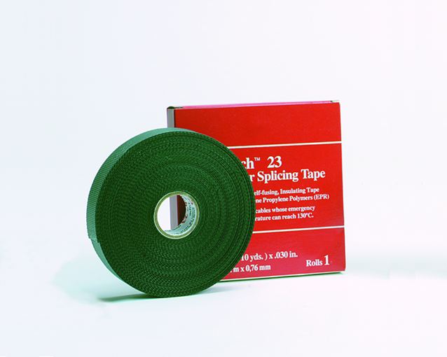 3M 23 1-IN-X-30FOOT RUBBER SPLICING TAPE 30MIL