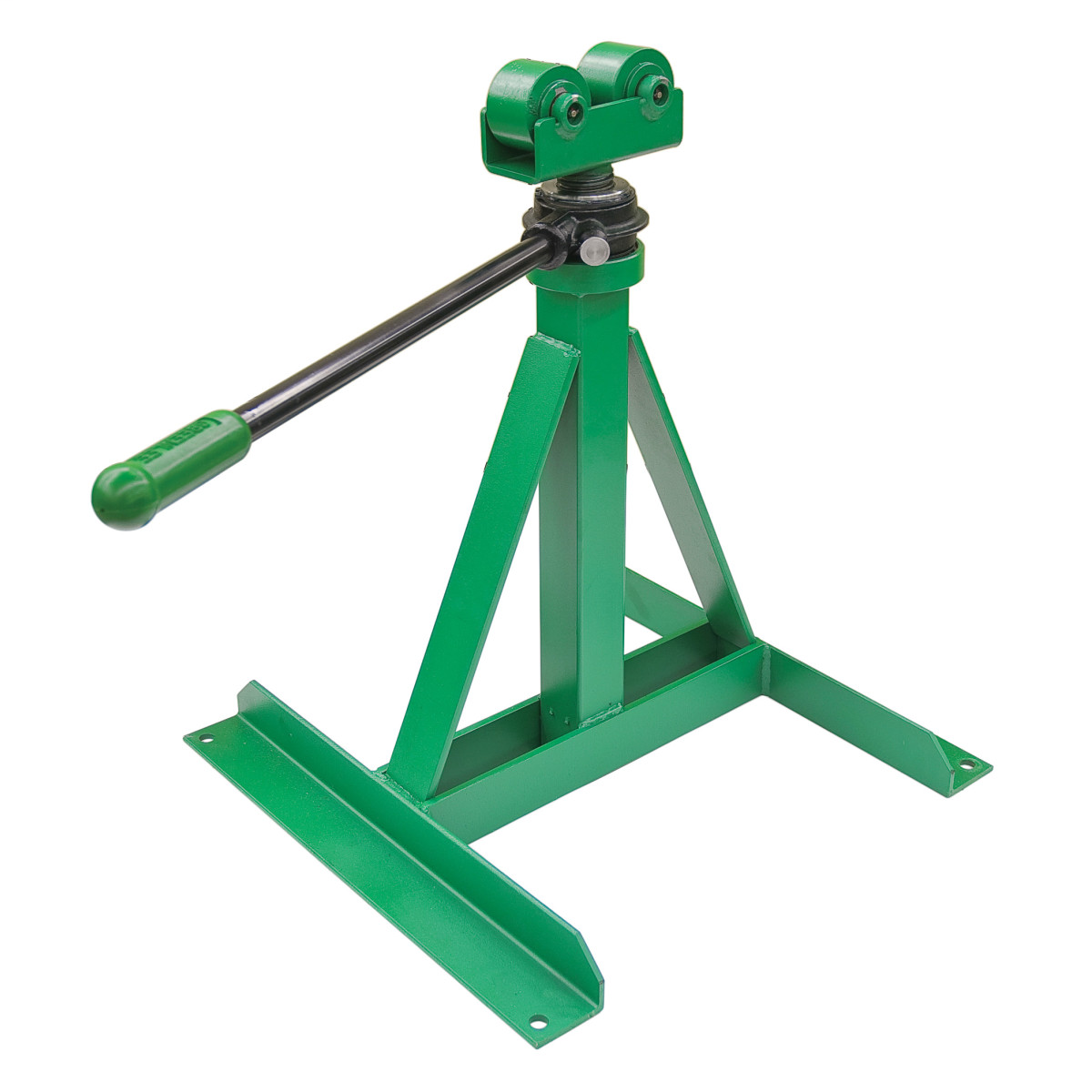 GREENLEE 656 RATCHET TYPE REEL STAND FOR 28-46-IN REELS