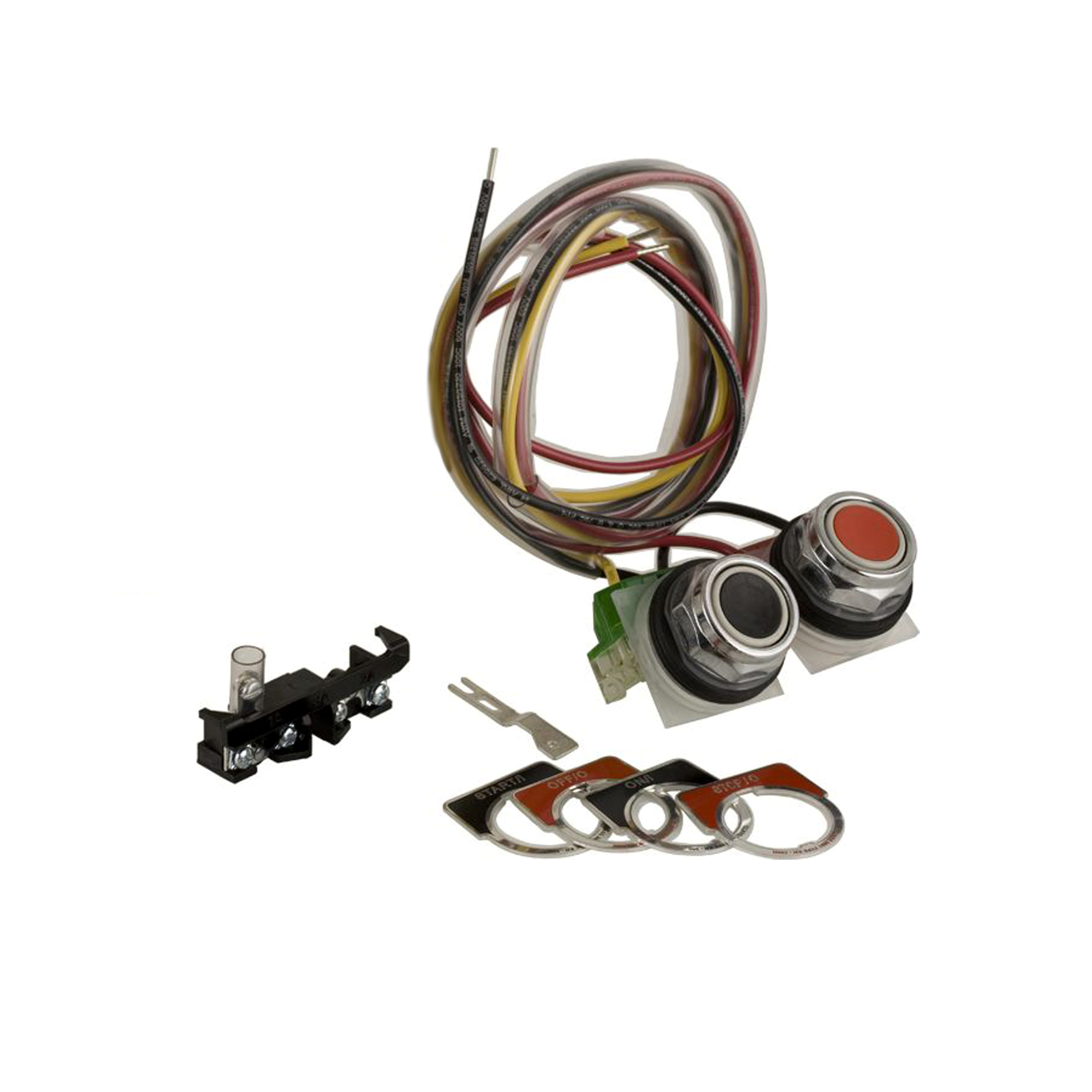Start Stop or On Off push button kit, NEMA 1/3R/12, for contactors and starters