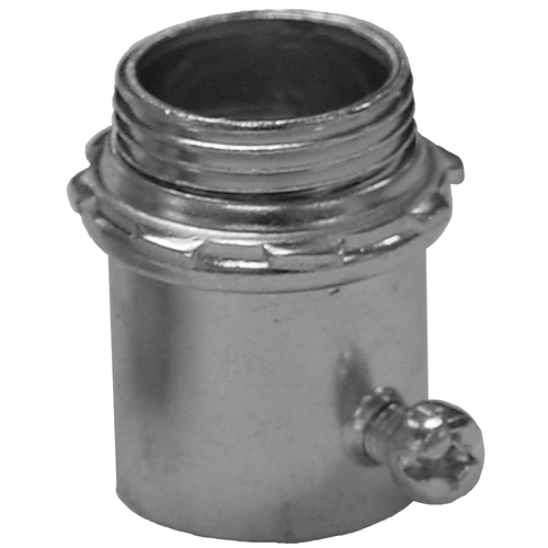EGS 4100ST 1-IN EMT STEEL INSULATED THROAT SET SCREW CONNECTOR