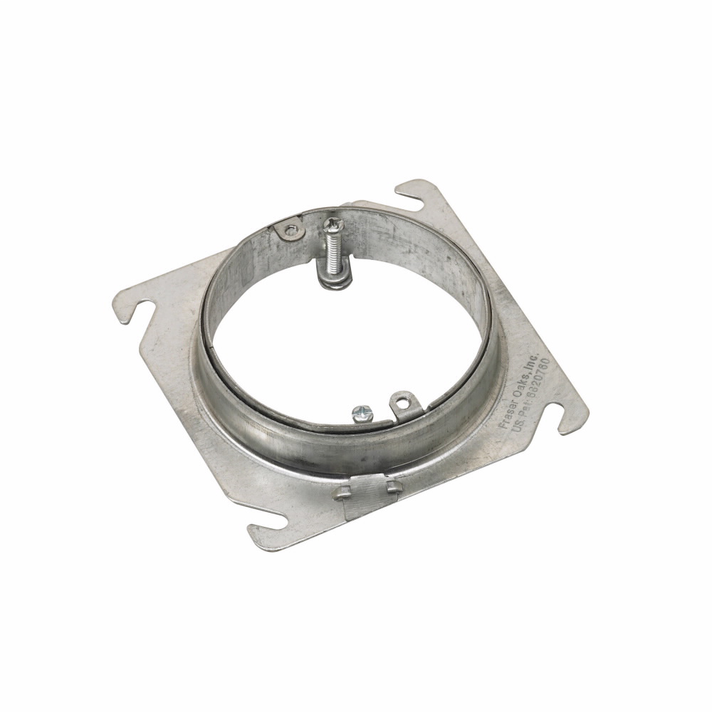 RACO 767 Plaster Ring,Silver,Flat