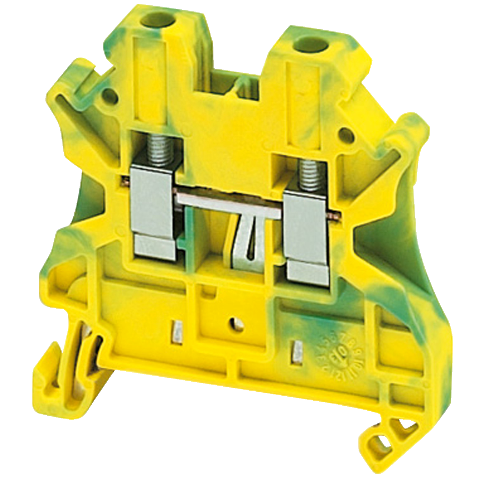 SQUARE D SCREW TERMINAL, PROTECTIVE EARTH, 2 POINTS, 4MM², GREEN-YELLOW