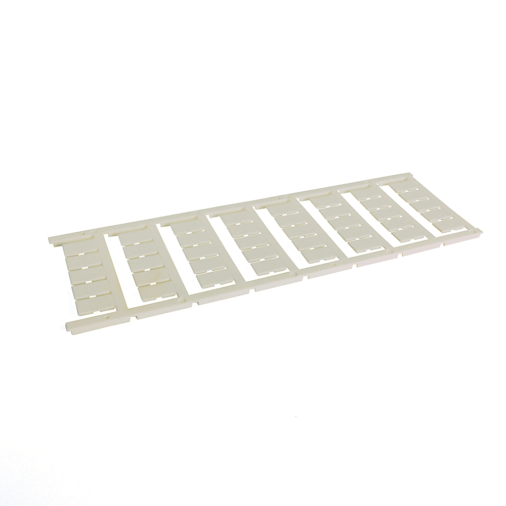 1492 Terminal Block Accessories Snap-In Individual Marker Card, 5 mm x 9 mm, No Text, ,
