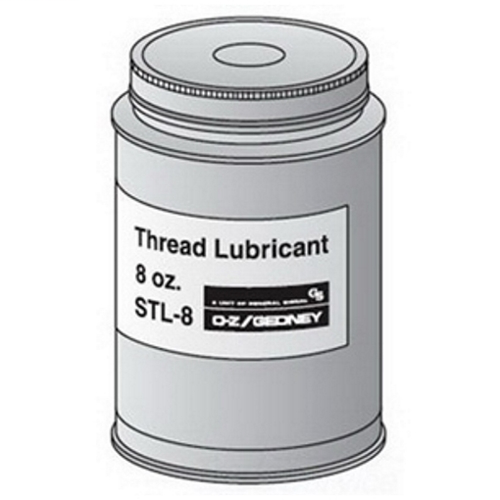OZ GEDNEY OZ-Gedney Thread Lubricant, Size: 8 OZ, Can, Lubricant Type: Antigalling, -40 To 600 DEG F Working Temperature, For Use Between Any Threaded Joint To Help Prevent Seizing And Galling