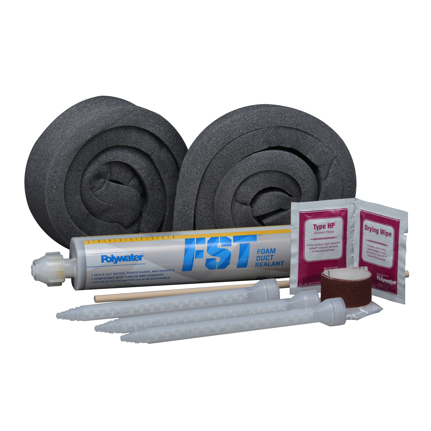 POLYWATER Same as kit above in a box of 6. Protects Conduit and Raceway Systems