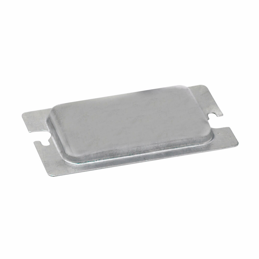 B-LINE METAL PROTECTOR PLATE FOR ONE DEVICE RECEPTACLE & GFCI