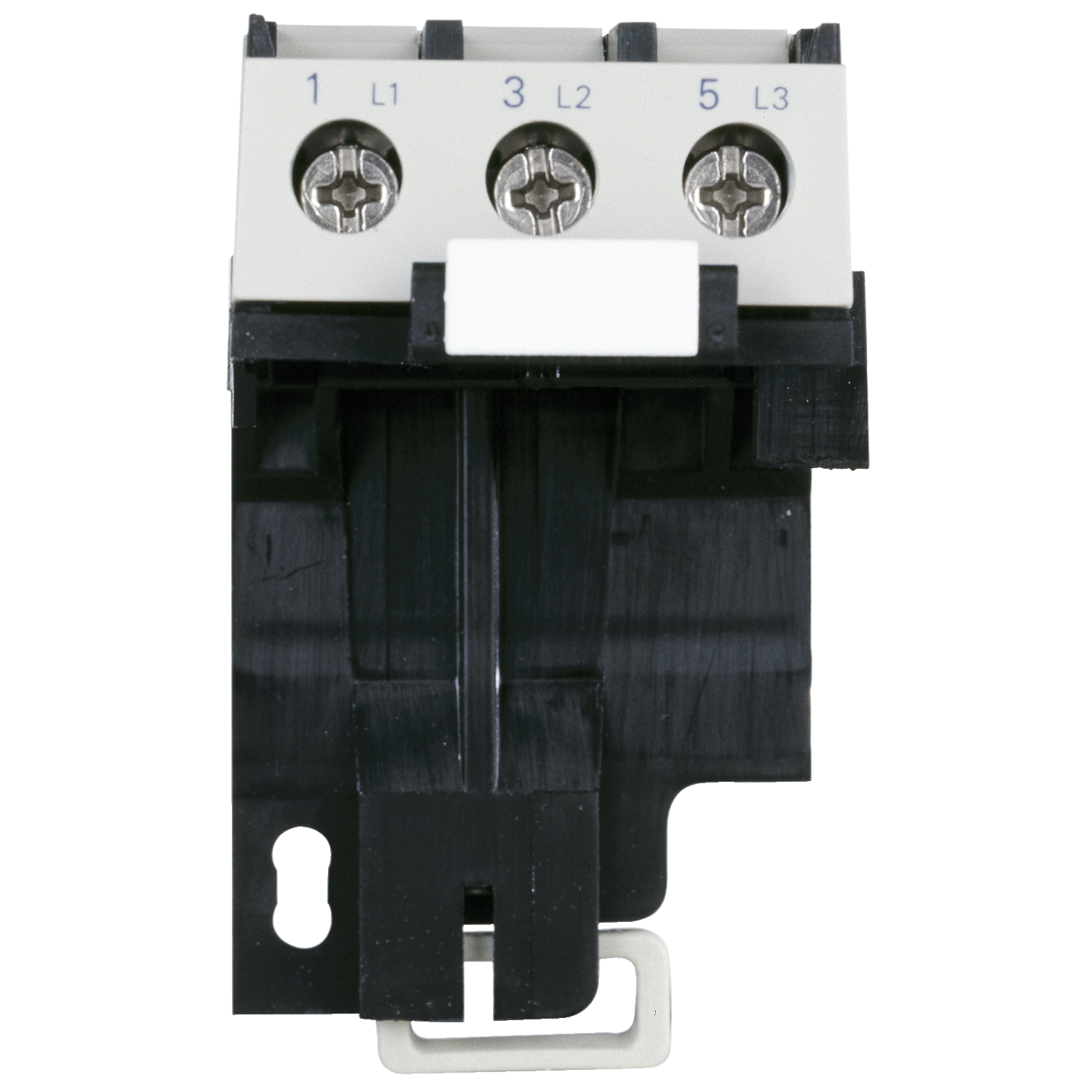 SCHNEIDER ELECTRIC Adapter terminal block, TeSys LRD, for separate mounting of LR2D1… LR3D1…