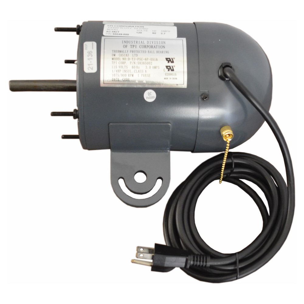 TPI HEATING Industrial Motor. For Use With Industrial Circulator