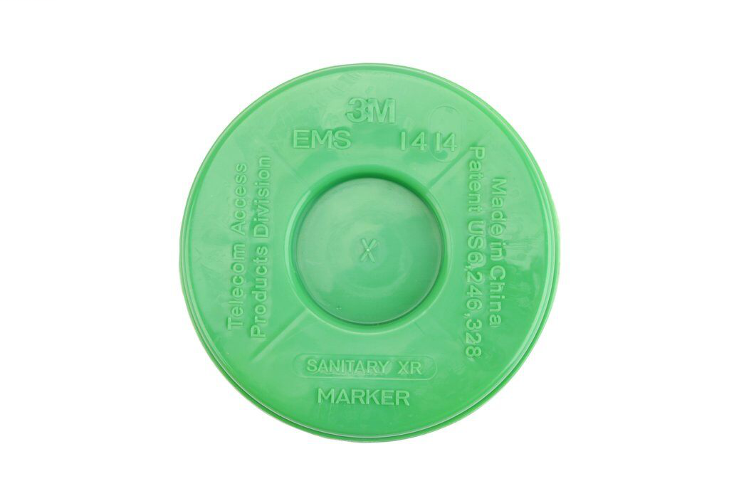 EXT RANGE 5' DISK MARKER - WASTEWATER (DO NOT DIRECT BURY)