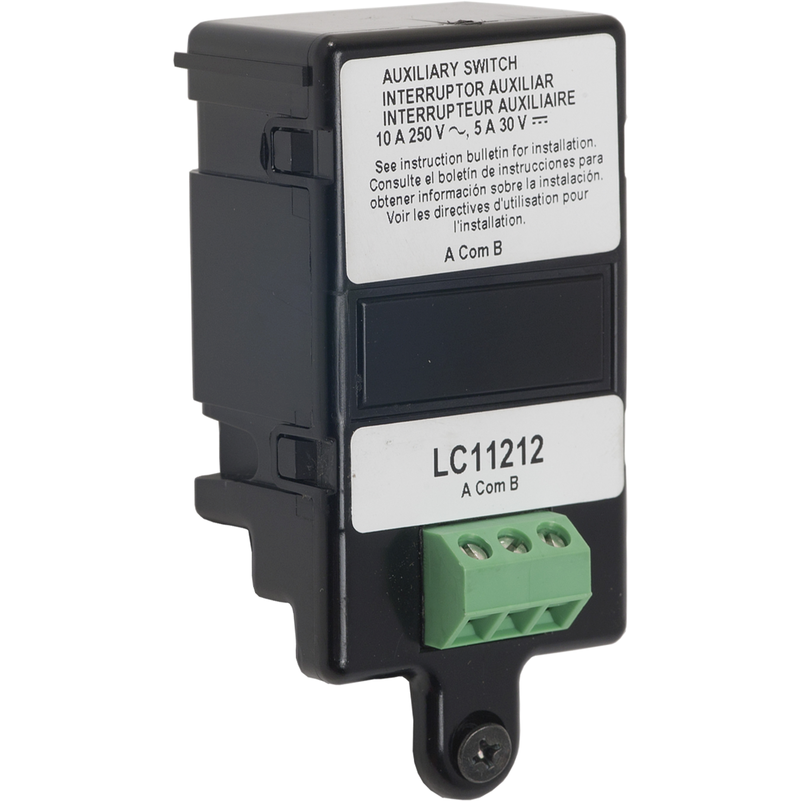 SQUARE D 125 to 250VAC LC AUXILIARY SWITCH 1A/1B