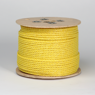 PECO PECO FASTENERS 1/4 X 1200 YELLOW POLY ROP SOLD PER EACH