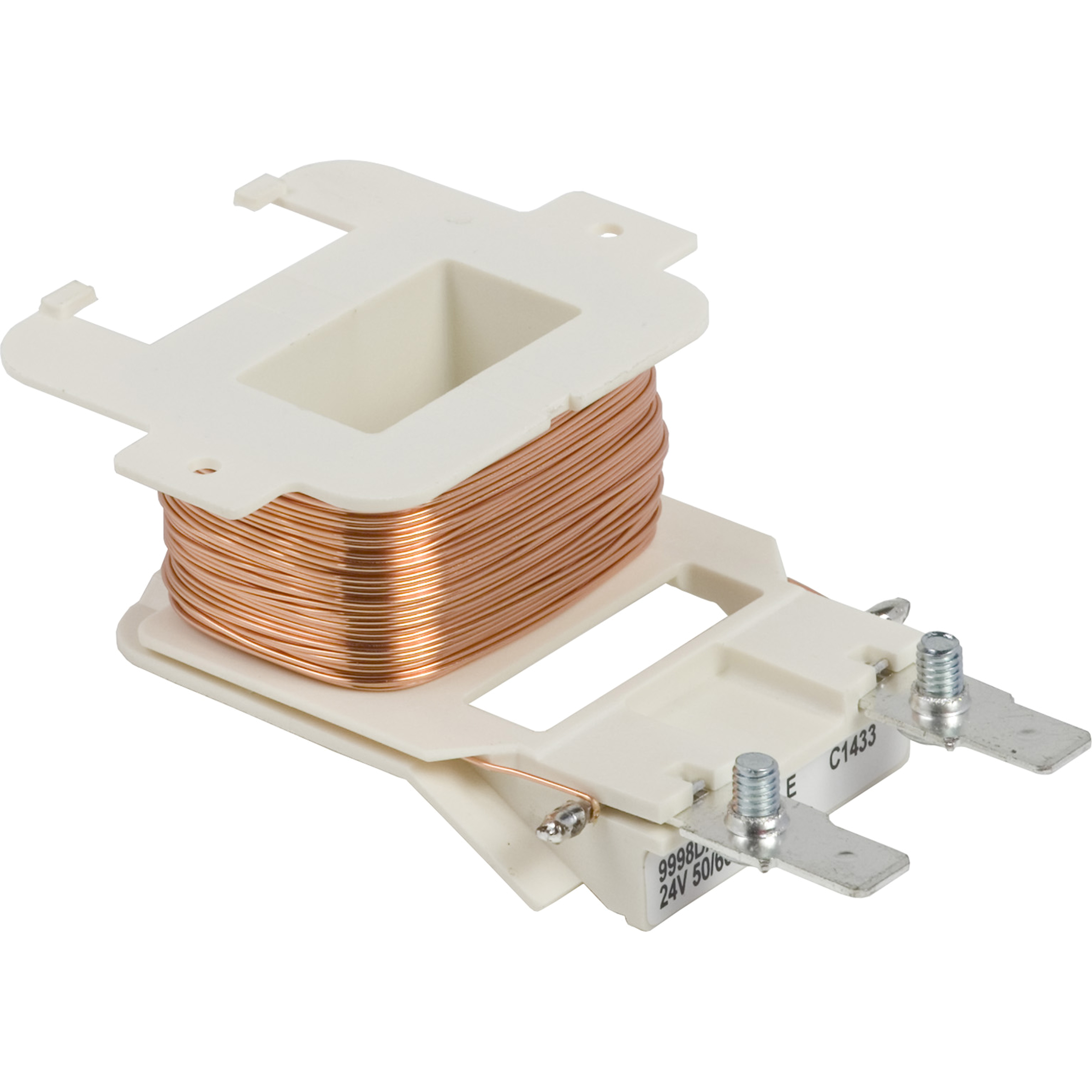 SQUARE D Contactor, Definite Purpose, replacement coil, 24/24 VAC 50/60 Hz, for 8910DPA 50A and 60A contactors, 2 and 3 poles