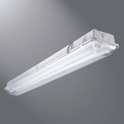 COOPER LIGHTING (2) 32W T8 Instant Start CEE Listed Ballast, 120-277V, Wet Location, Gear Tray Provided With Holes For M4 Reflector Accessory