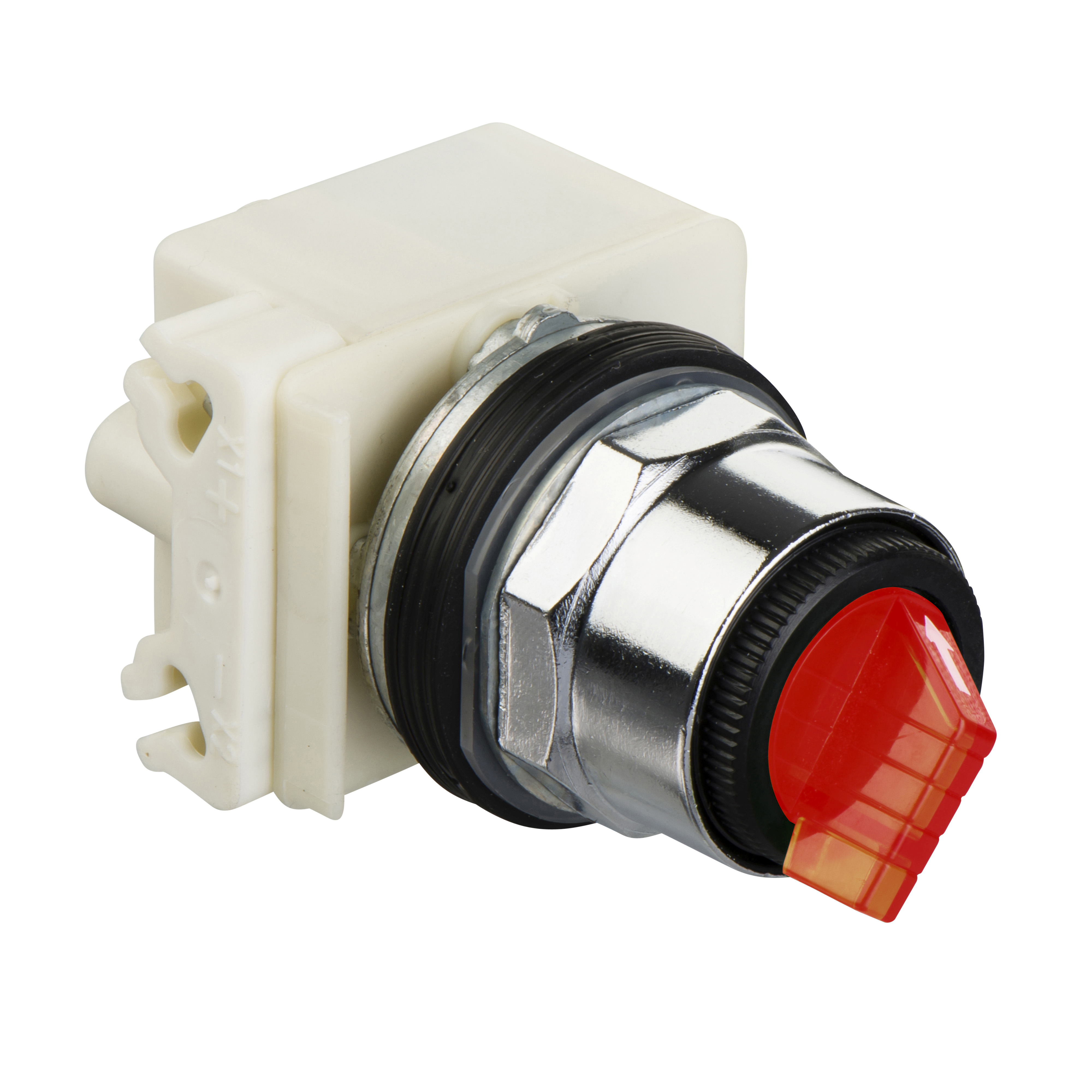 SQUARE D Selector switch Ø 30 - 3 positions - spring return - incandescent