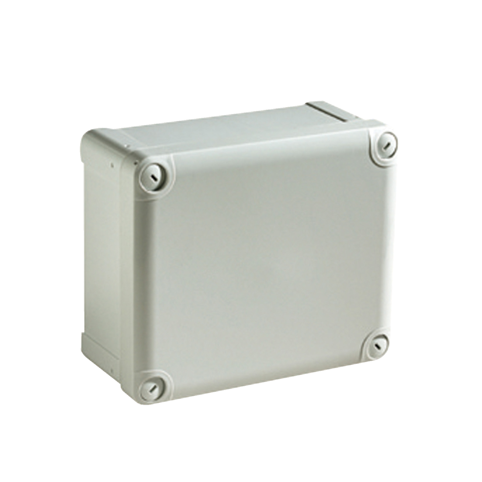 SCHNEIDER ELECTRIC ABS box IP66 IK07 RAL7035 Int.H105W105D55 Ext.H116W116D62 Opaque cover H10