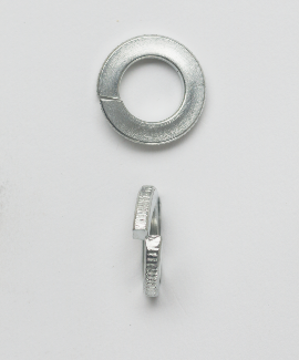 Mayer-1/4 SPLIT LOCK WASHER ZINC 96288-1
