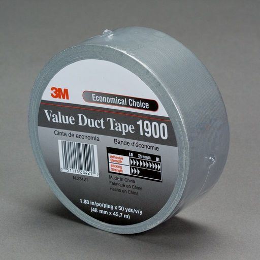 Mayer-3M 1900-48mm Value Duct Tape Silver-1