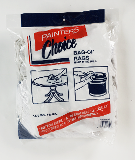Mayer-1 LB BAG WHITE KNIT RAGS 64016-1