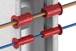 """Mayer-Firestop Grommet for Cables up to 0.53""""-1"""