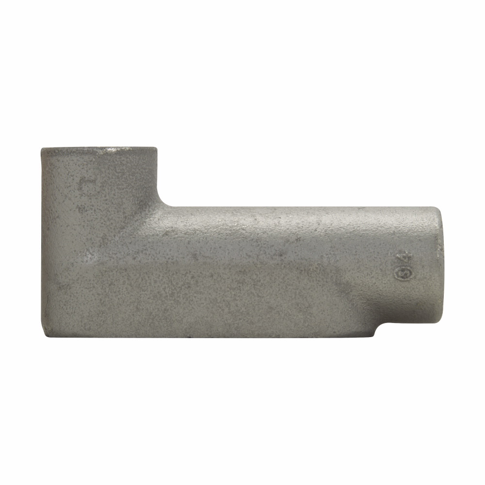 Eaton Crouse-Hinds series Condulet Form 7 conduit outlet body, Feraloy iron alloy, LB shape, 1""