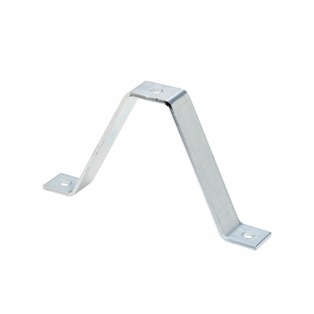 """Eaton B-Line series strut fittings and accessories, 2.37"""" Height, 7.62"""" Length, 1.62"""" Width, 1.10lbs, Steel, Wall ladder bracket, Electro-plated zinc"""