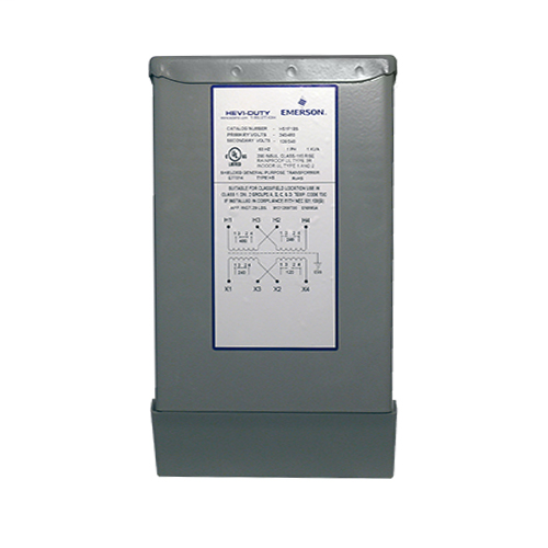 Non-Ventilated Automation Transformer,0.75 kVA, Primary Amps: 3.13/1.56, Secondary Amps: 6.25/3.13, Primary Volts: 240 x 480, Volts Secondary: 120/240, Frequency: 60 HZ