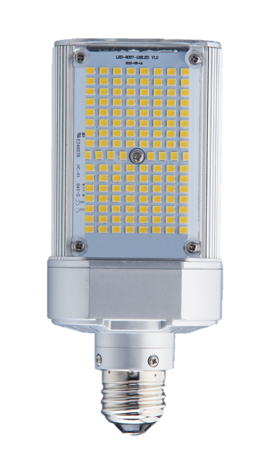 30W SHOE BOX/WALL PACK RETROFIT , REPLACES UP TO 100W HID, E39, 5700K E39 REPLACES UP TO 100W HID 120-277V