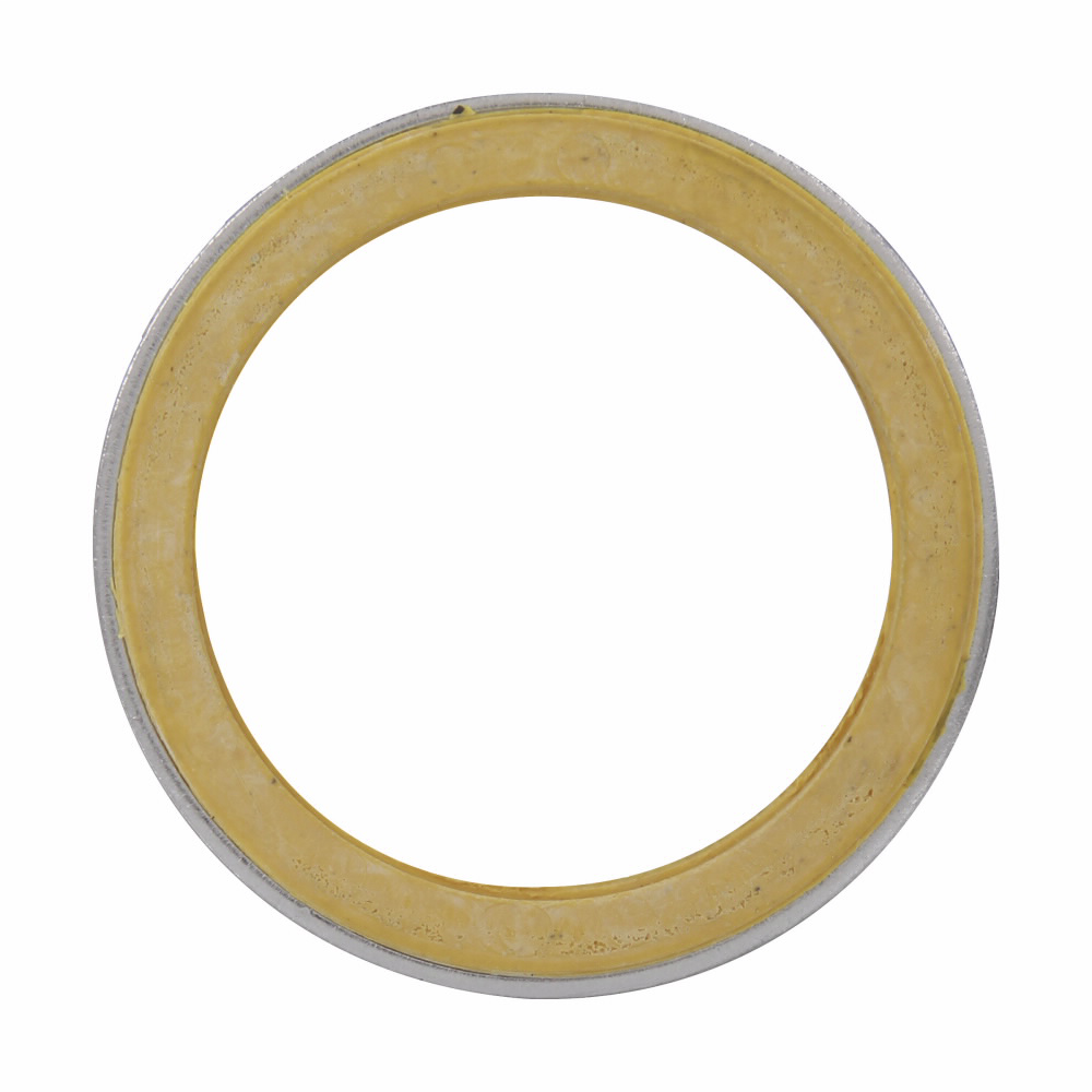 """Eaton Crouse-Hinds series SG sealing gasket, Nitrile-butadiene rubber, Stainless steel ring, 2"""""""