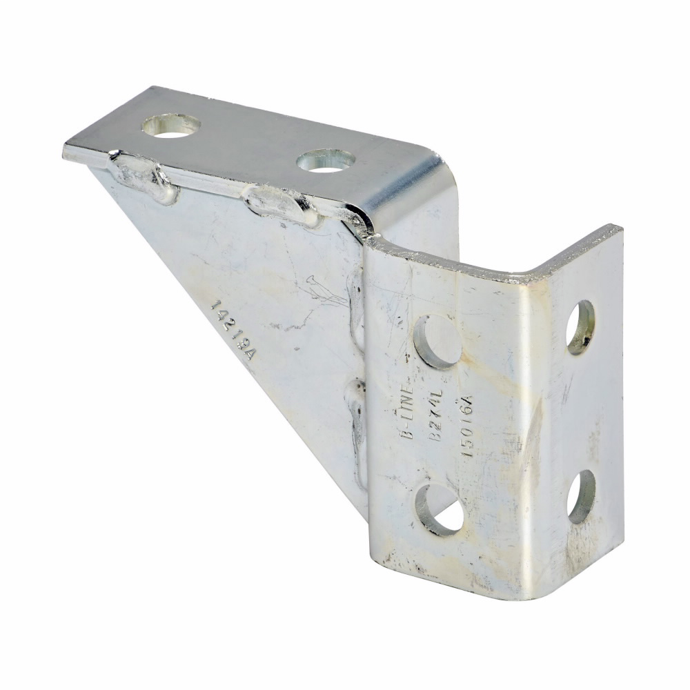 Eaton B-Line series strut fittings and accessories - Length 5.67 in, Width 1.68 in, Height 3.93 in - Steel