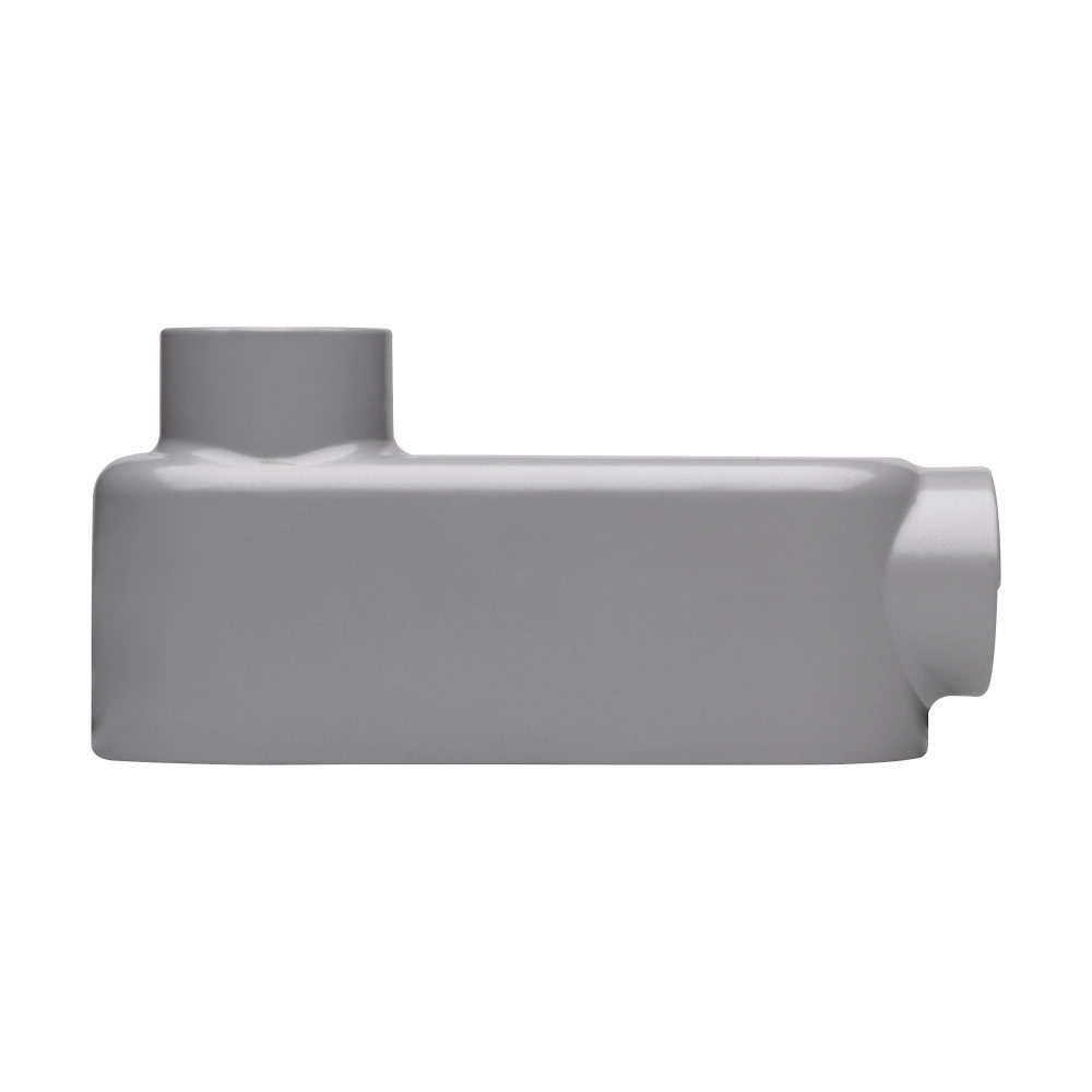 Eaton Crouse-Hinds series Condulet Series 5 conduit outlet body, Combination EMT-Rigid/IMC, Copper-free aluminum, LB shape, 1""