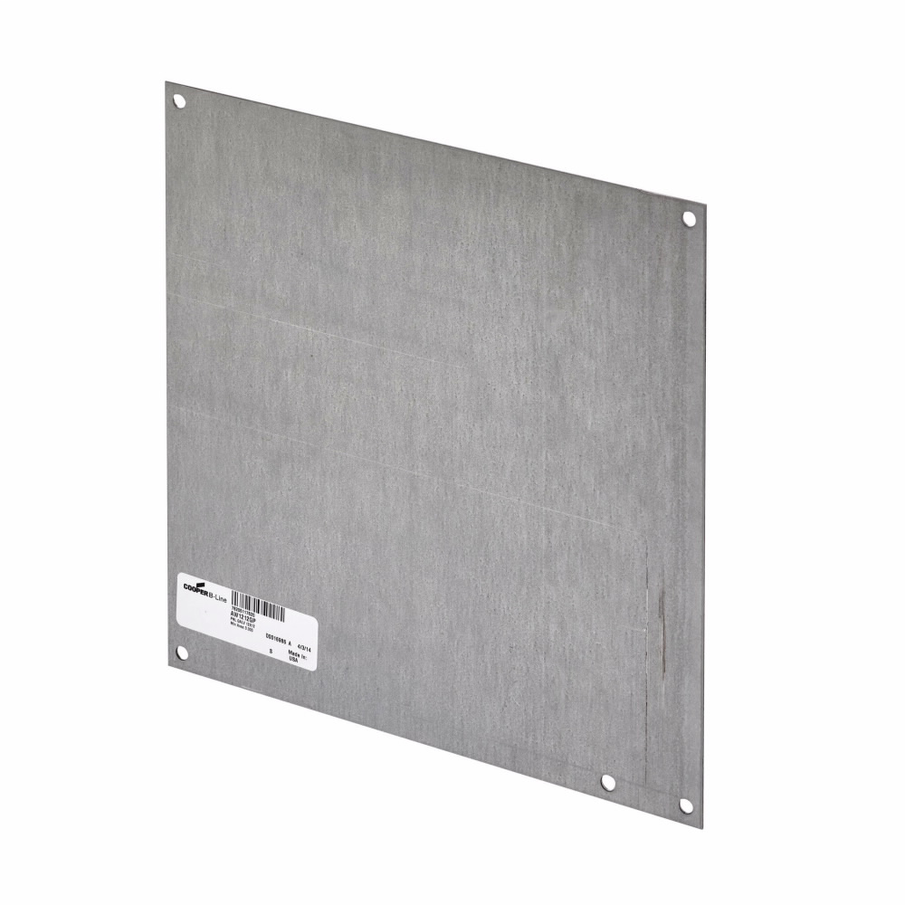 Eaton B-Line series mounting panels, NEMA 12, White powder coated, JIC panels can be installed in all JIC Enclosures, Galvanized steel, JIC and small panels, Panels and panel accessories, Panel