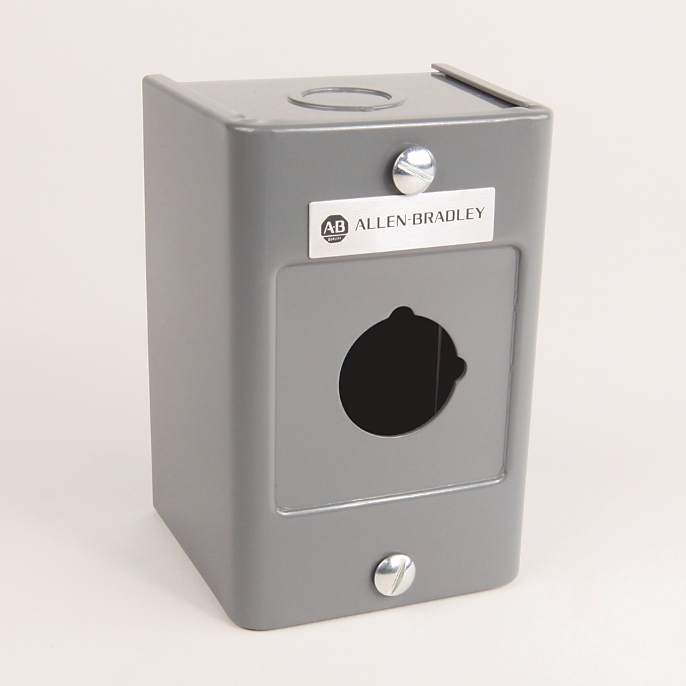 800H Type 4X Assembled Station, Stainless Steel, Booted Oper.