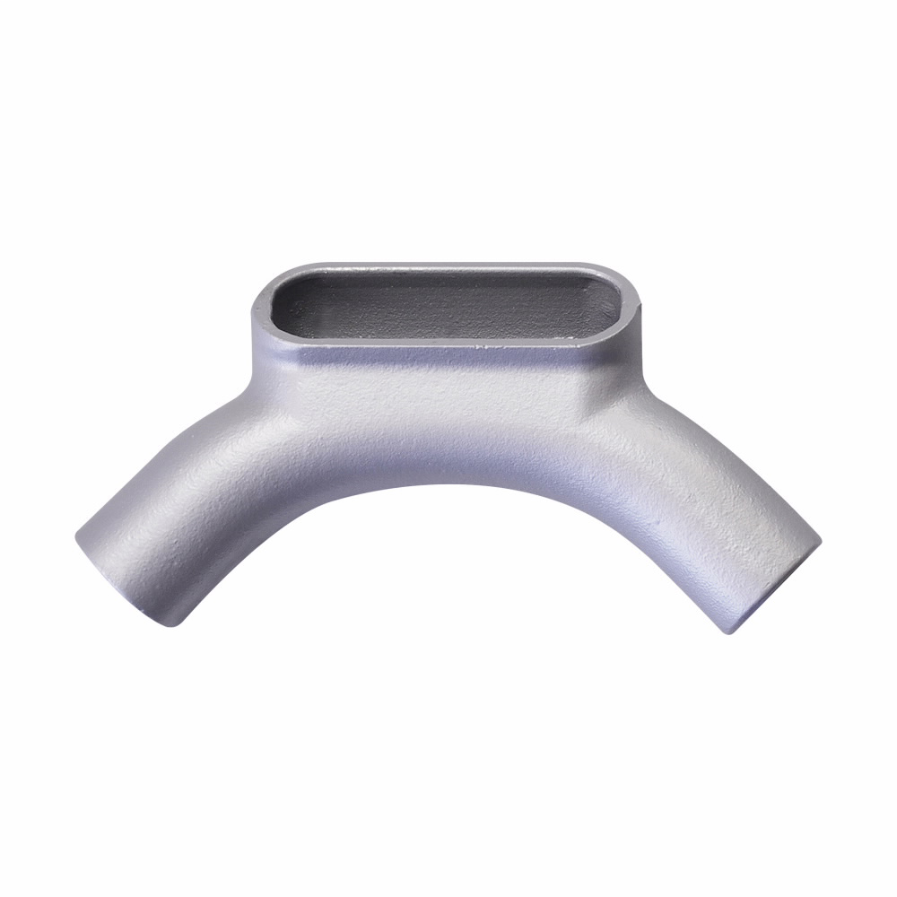 Eaton Crouse-Hinds series Condulet Form 7 conduit outlet body, Feraloy iron alloy, U shape, 3/4""