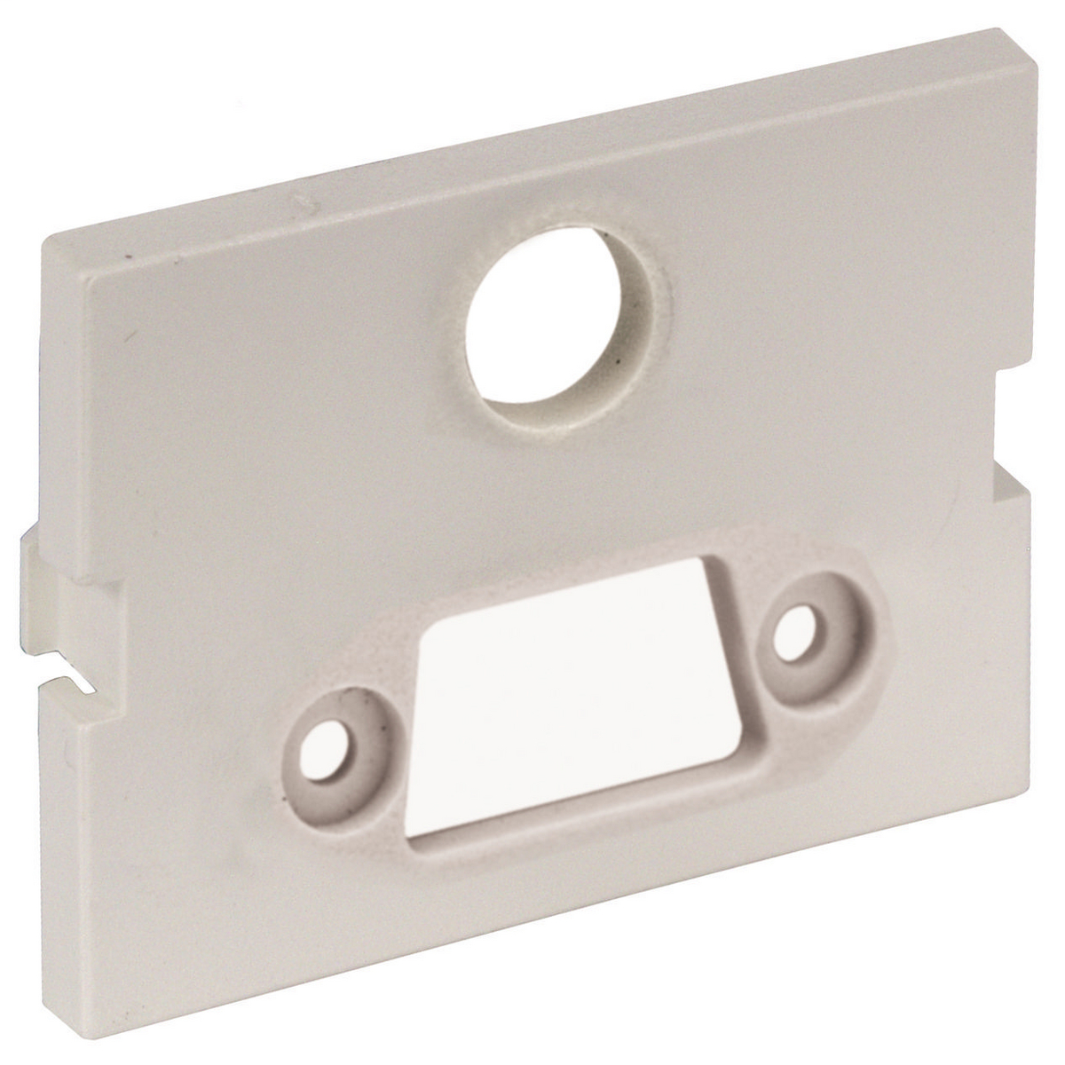 Hubbell Premise Wiring Products, iStation Module, SVGA with 3.5 MMStereo Jack, 1.5-Unit, Screw Terminal, Office White