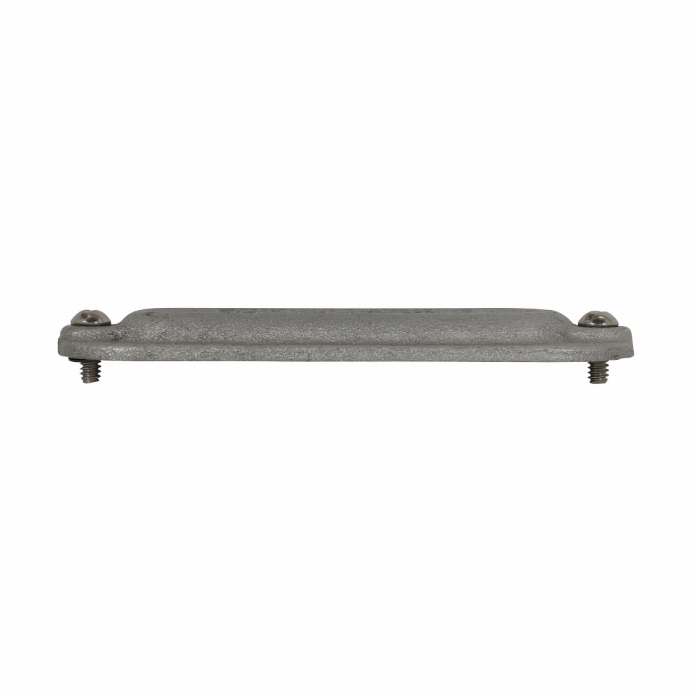"""Eaton Crouse-Hinds series Condulet Form 8 cover, Feraloy iron alloy, 1/2"""""""