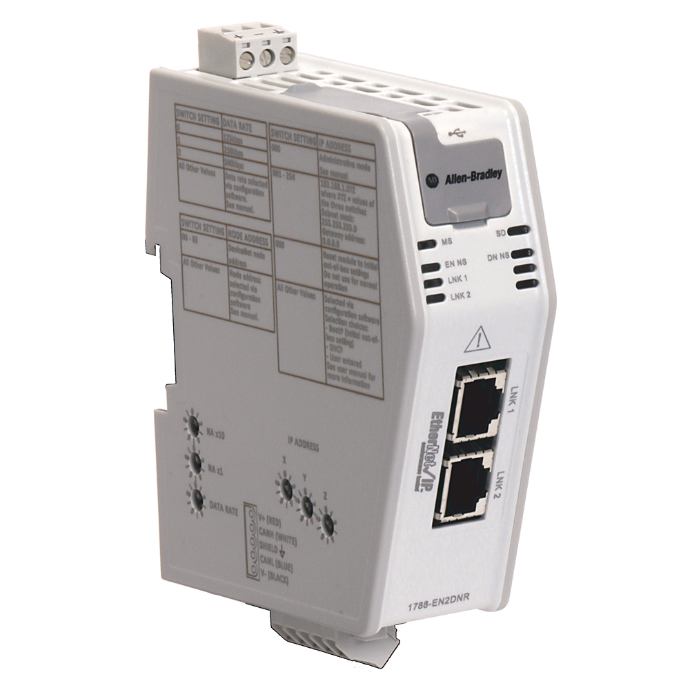 Networks and Communication Products, Communication Module, EtherNet/IP to DeviceNet linking Device,DLR