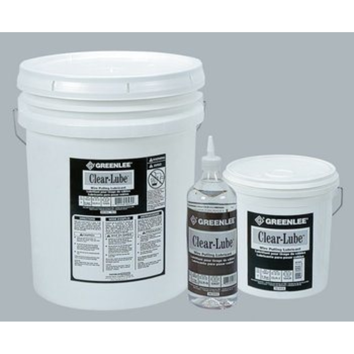 5-GALLON CLEAR CABLE LUBE